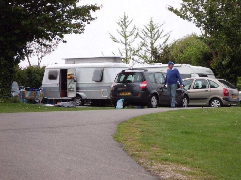 staanplaats caravan