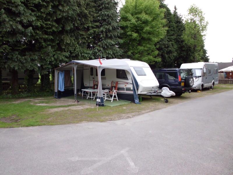 staanplaats motorhome + caravan